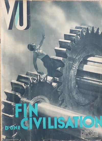VU  Fin D'Une Civilisation Marcel Ichac Alexander Liberman 1933