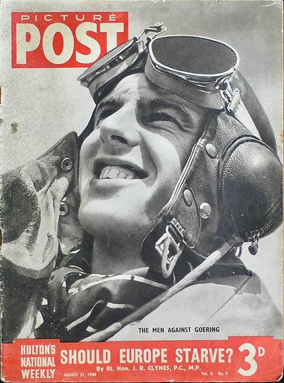 P/O K.R. Gillman 32 Squadron Battle of Britain Picture Post 31st August 1940