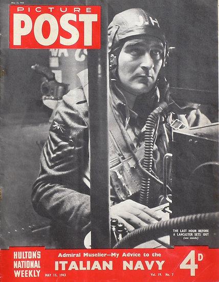 Picture Post Lancaster 207 Squadron R.A.F. Langar 1943