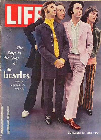 The Beatles Life 13th September 1968