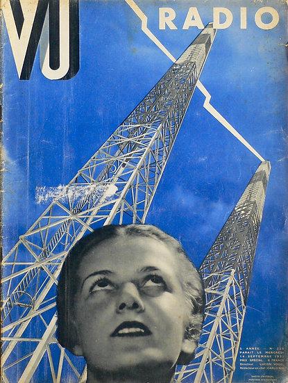 VU Radio Alexander Liberman 14th September 1932