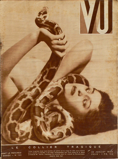 VU Man Ray 'Le Collier Tragique' 23 Juillet 1930