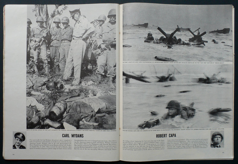 Robert Capa War Photographers Life 5th November 1945