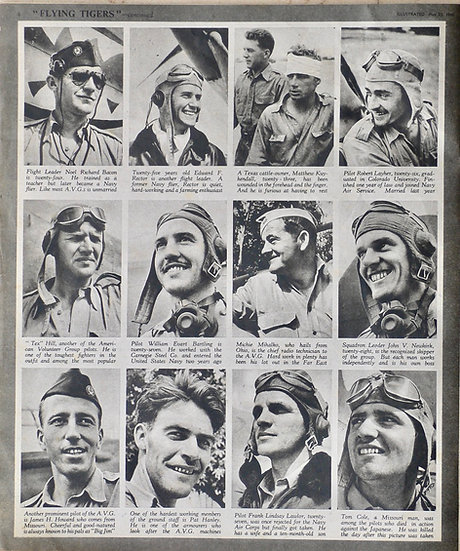 George Rodger Flying Tigers Illustrated 23rd May 1942