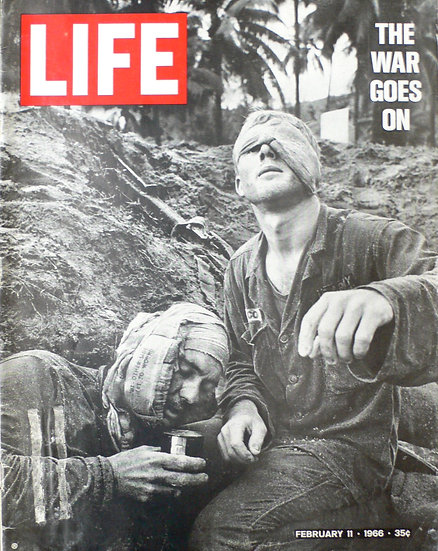 Henri Huet On With The War And Operation Masher Life Magazine 11th February 1966