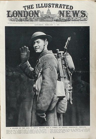 Milburn H. Henke The Illustrated London News 7th February 1942