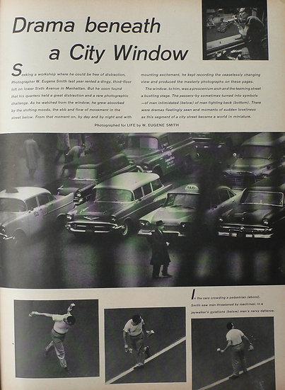 W. Eugene Smith Drama Beneath A City Window - LIFE 1958