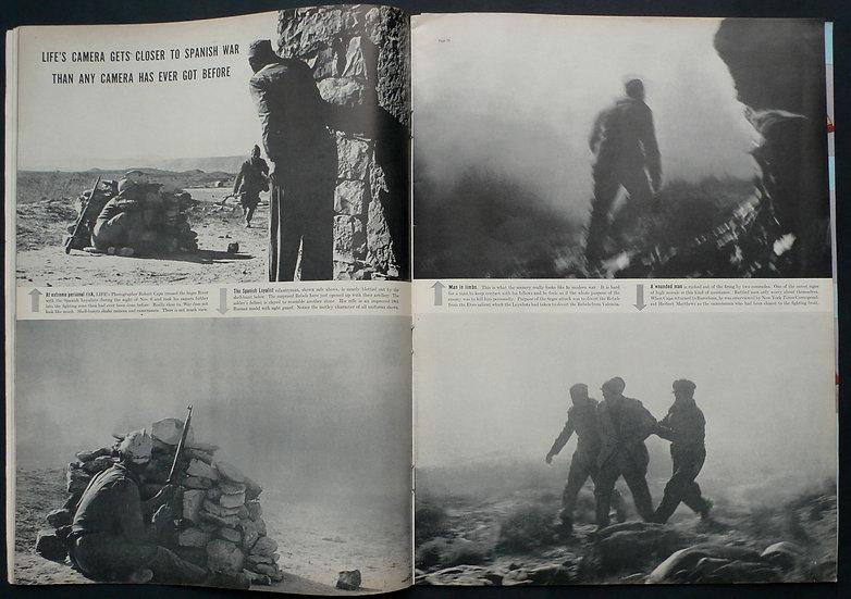 Robert Capa Life Magazine Ebro December 1938