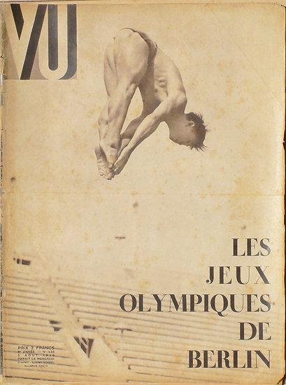 VU Les Jeux Olympiques De Berlin 5 Aout 1936