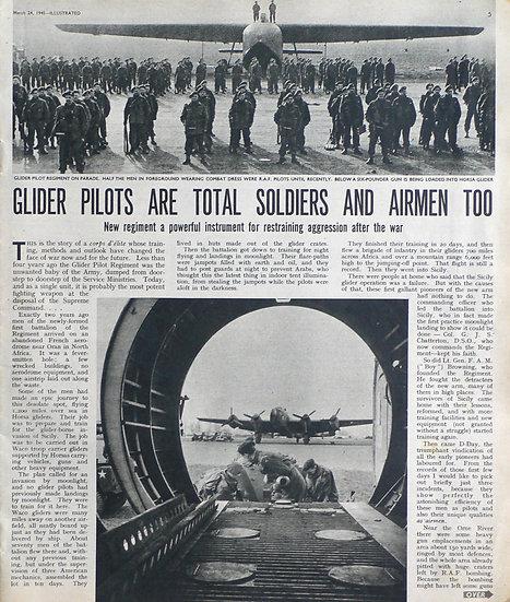 Illustrated Glider Pilot Regiment 1945