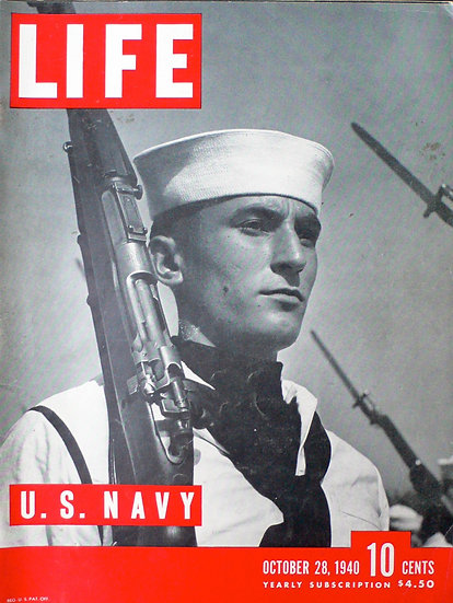 W. Eugene Smith U.S. Navy Life 28th October 1940