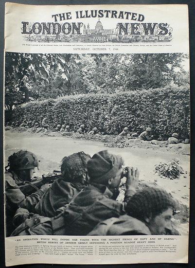 Oosterbeek - Arnhem London Illustrated News 7th October1944