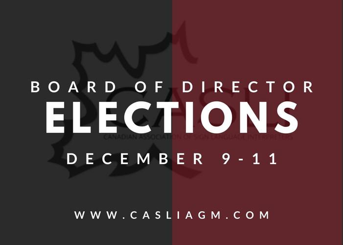 CASLI Board Elections 2020