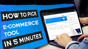 Tips on Picking the Right Ecommerce Tools in Minutes