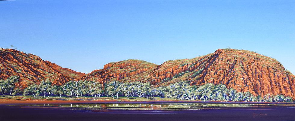 Deloona Gorge by Helen Komene Art
