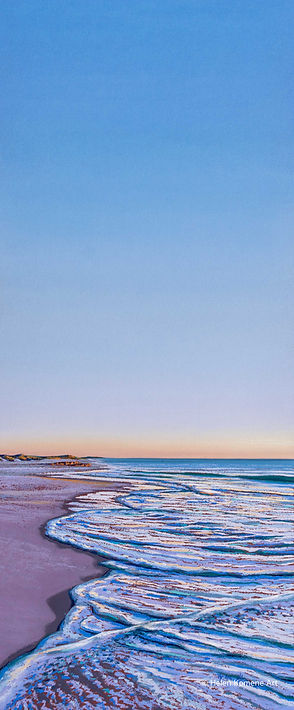 Helen Komene Art - Last hour of Fishing-
