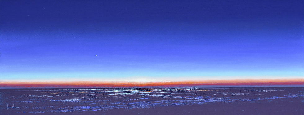 Cusp of Sunrise by Helen Komene Art