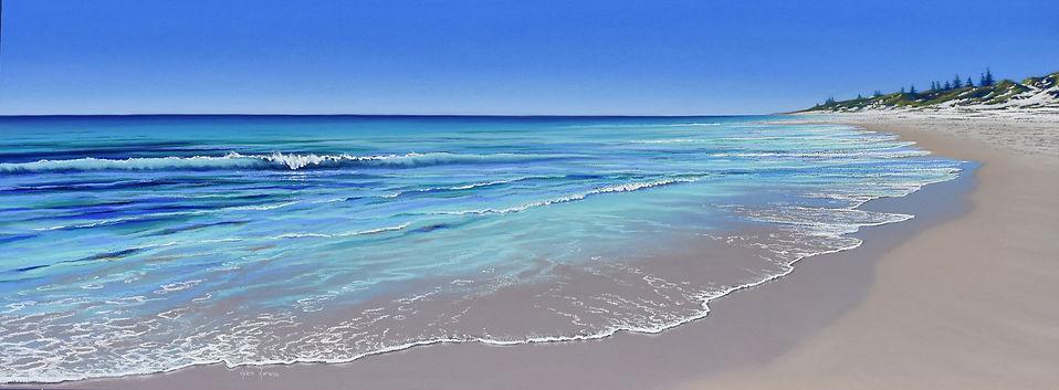Cottesloe Calm by Helen Komene, Australian artist
