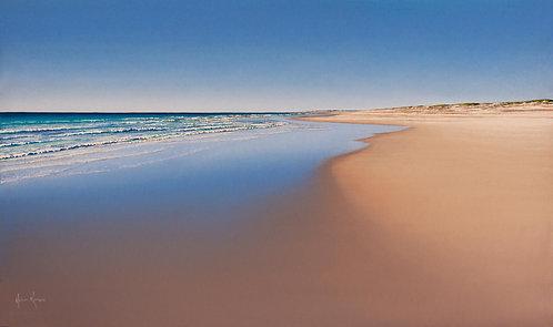 Unframed Print     'Sea's Signature' Cable Beach, Broome, WA