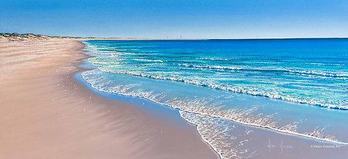 Greeting Card | 'King Tide' Spoilbank, Port Hedland, Western Australia