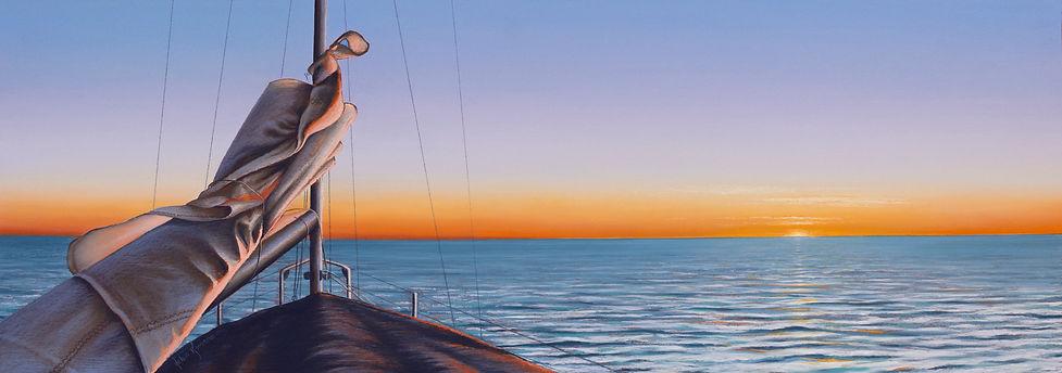 Miles from Anywhere by Helen Komene, Australian artist