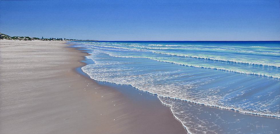 Summer Blue by Helen Komene, Australian artist