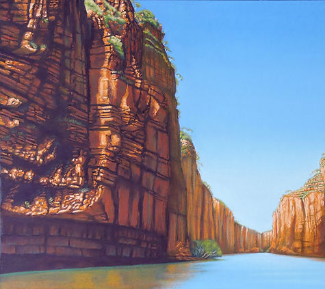 Katherine Gorge by Helen Komene Art