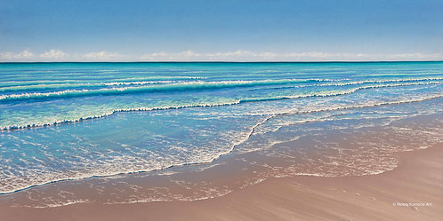 Greeting Card   'Contemplation' Cable Beach, Broome, Western Australia