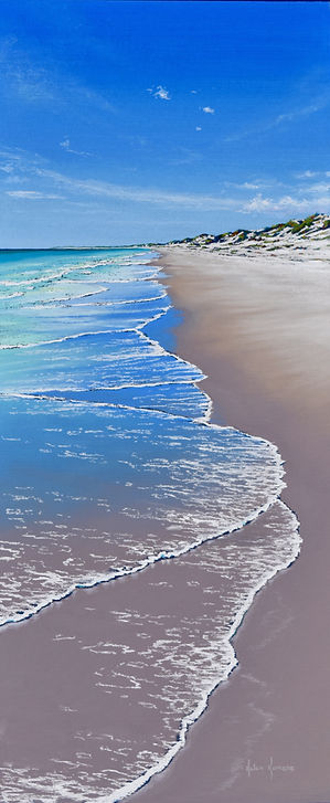 Drifter, Pilbara coast by Helen Komene, Australian artist