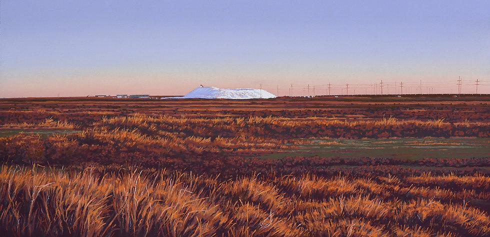 Evening Glow by Helen Komene Art