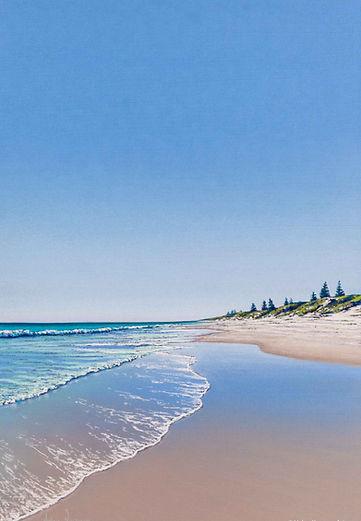 Helen Komene australian artist seascapes, landscapes, portraits