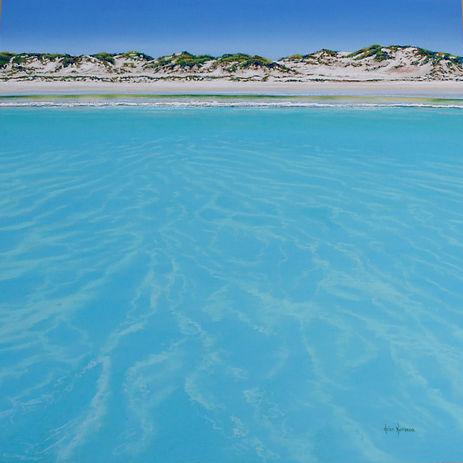 Favourite Fishing Spot by Helen Komene, Australian artist