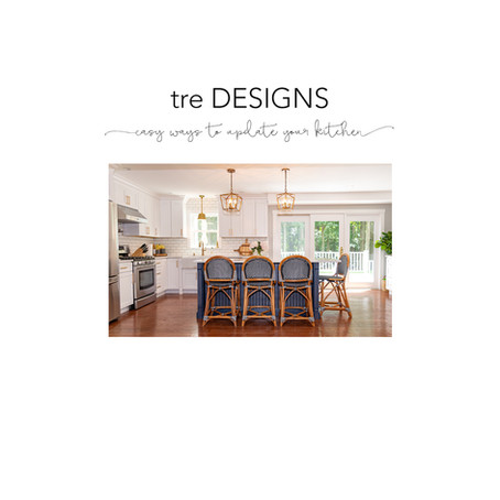 tre Tips - 5 Easy Ways to Update Your Kitchen
