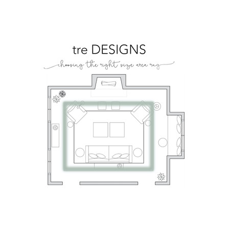 tre Tips - Choosing The Right Size Area Rug