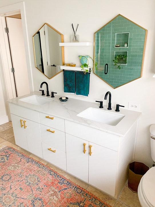 Houston Bathroom Remodel Design by Tre Designs