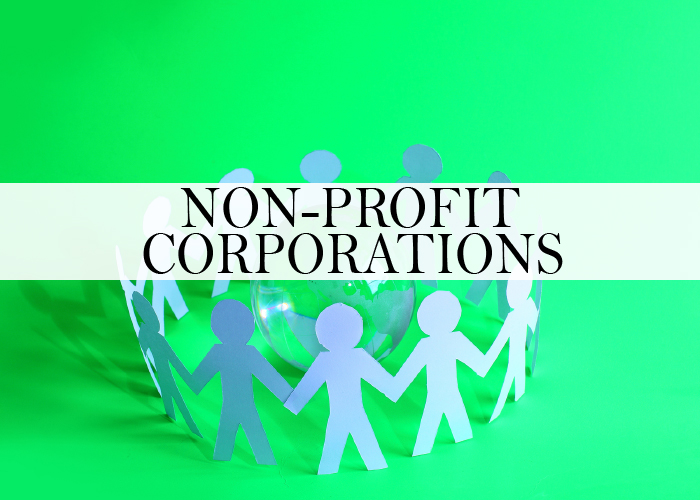 NON PROFIT CORPORATIONS