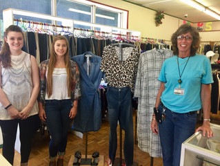 Local business supports NARMC Auxiliary Thrift Store