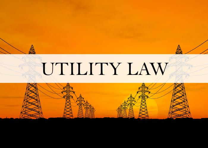 UTILITY LAW