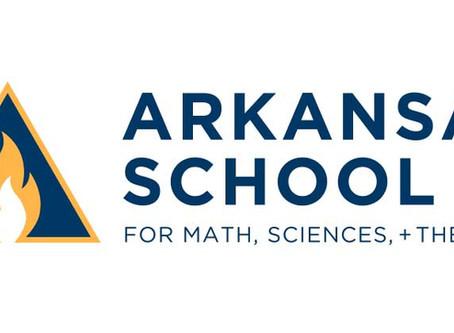 Logo Creation: Arkansas School for Math, Sciences, + The Arts