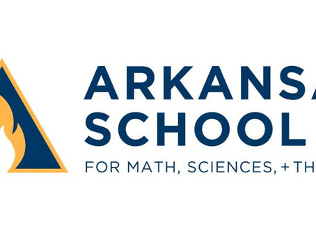 Logo Creation: Arkansas School for Math, Sciences, + The Arts
