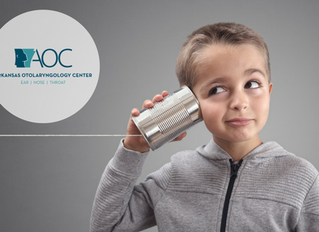 Common Hearing Issues with Children | Arkansas Otolaryngology Center