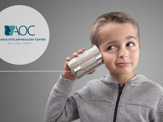 Common Hearing Issues with Children | Arkansas Otolaryngology Center