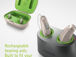 Phonak Rechargeable Hearing Aids