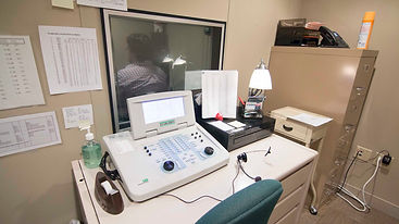 audiology hearing aid test in little rock