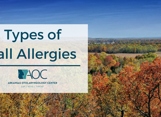 Types of Fall Allergies