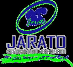 Jarato Screen Printing logo & tagline