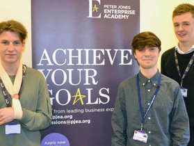 Peter Jones Enterprise Academy Students Fundraise for RRF