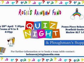 Rosie's Rainbow Fund Quiz Night