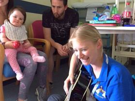 RRF Makes Music at Stoke Mandeville Hospital