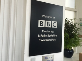 Rosie's Rainbow Fund Visits BBC Caversham